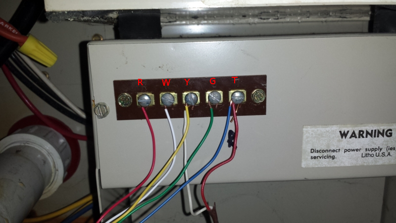 thermostat c wires